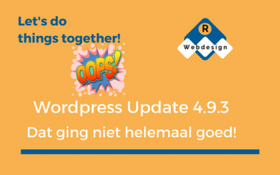 WordPress Update 4.9.3